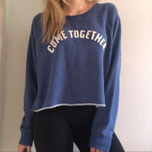 NWT Abercrombie &Fitch come together crop Pullover